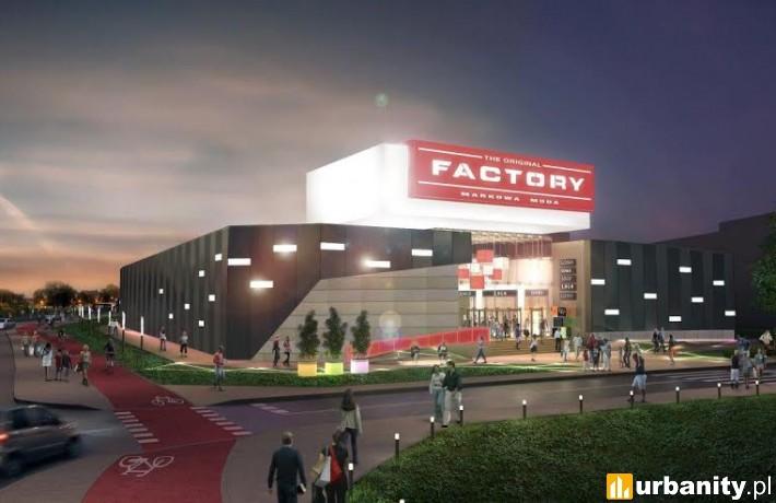 Factory Warszawa Ursus - rozbudowa