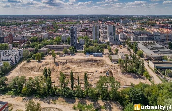 Ruszyła budowa osiedla Fama Jeżyce - czerwiec 2020 roku.
