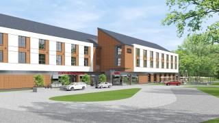 Kompleks hotelowo-konferencyjny w Malborku - wizualizacja