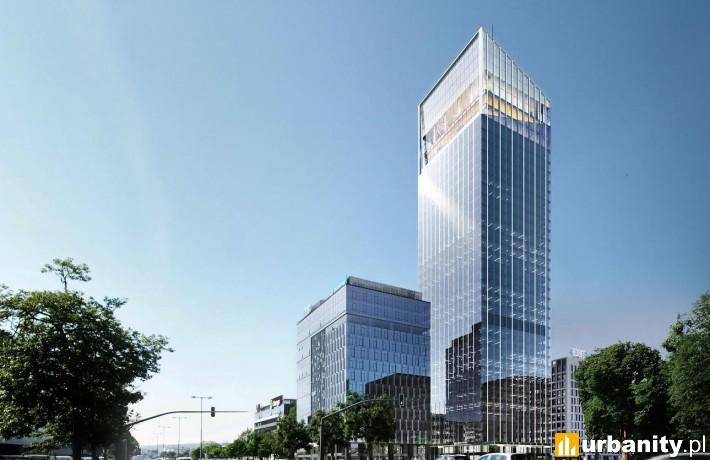 Wizualizacja 180-metrowego wieżowca Olivia Star