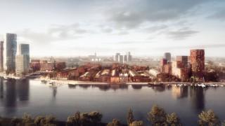 Projekt zabudowy Stoczni Cesarskiej w Gdańsku