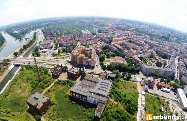 Teren dawnego Browaru Piastowskiego we Wrocławiu