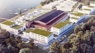 Fabryka Samolotów w Mielnie - wizualizacja