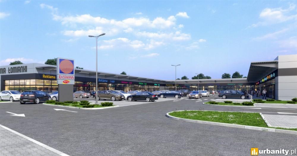 Ruszyła budowa parku handlowego Prochownia Łomianki