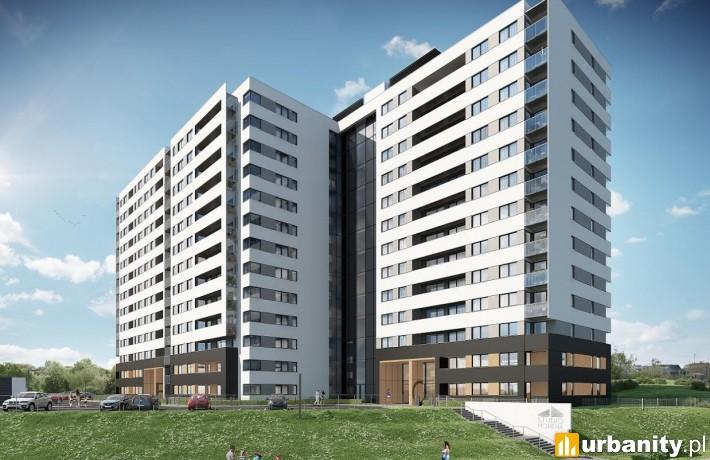 Wizualizacja budynku Studio Morena w Gdańsku