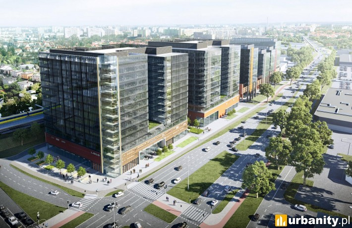 Kompleks wielofunkcyjny Alchemia w Gdańsku - projekt