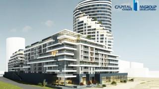 Trwa budowa kompleksu Capital Towers w Rzeszowie