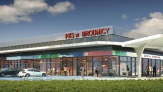 Otwarto centrum handlowo-komunikacyjne Dekada w Brodnicy