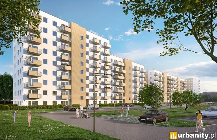 Murapol Nowe Miasto - wizualizacja