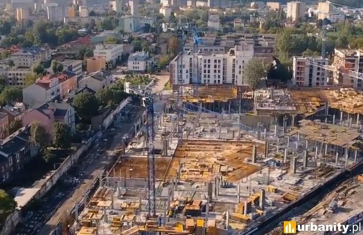 Postęp prac na budowie Nowej Stacji w Pruszkowie