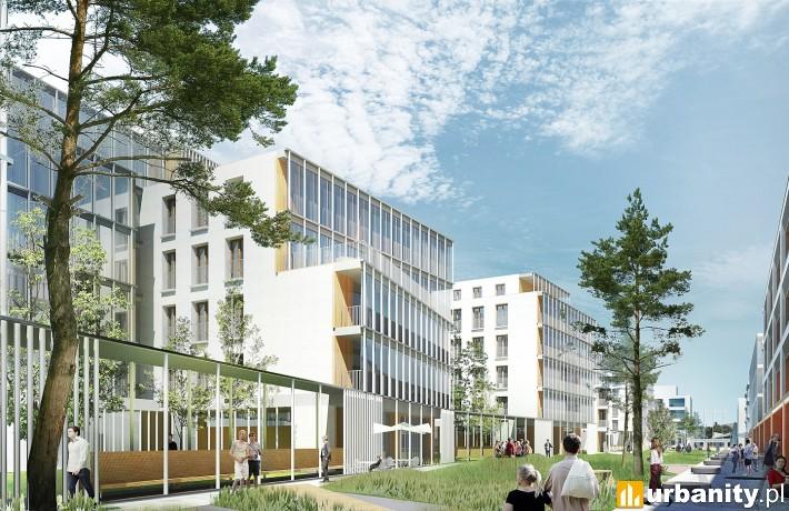 Część biurowa kompleksu Gdynia Waterfront II