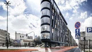 Wizualizacja apartamentowca New Iron w Łodzi