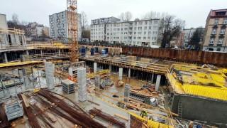 Połowa mieszkań sprzedanych na budowie osiedla w centrum Katowic