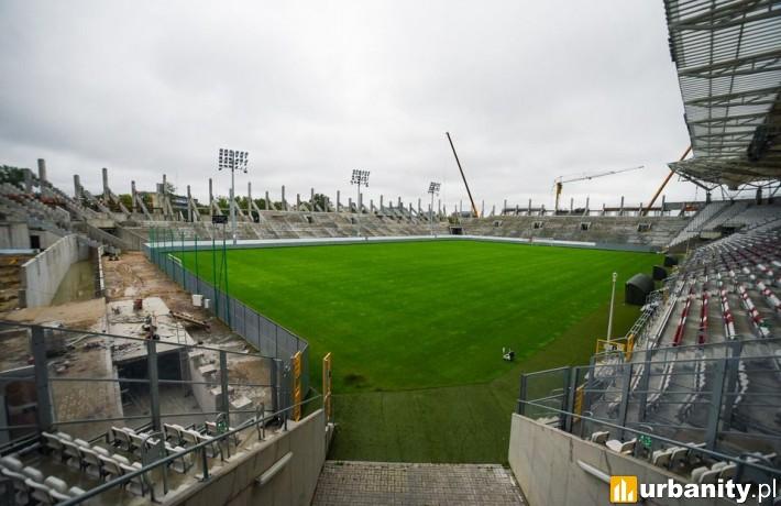 Budowa stadionu ŁKS Łódź (fot. uml.lodz.pl)