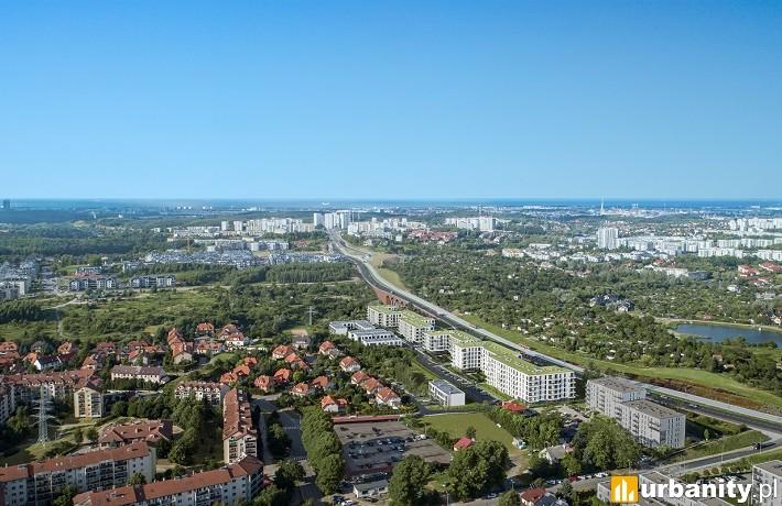 Wizualizacja inwestycji Linea w Gdańsku