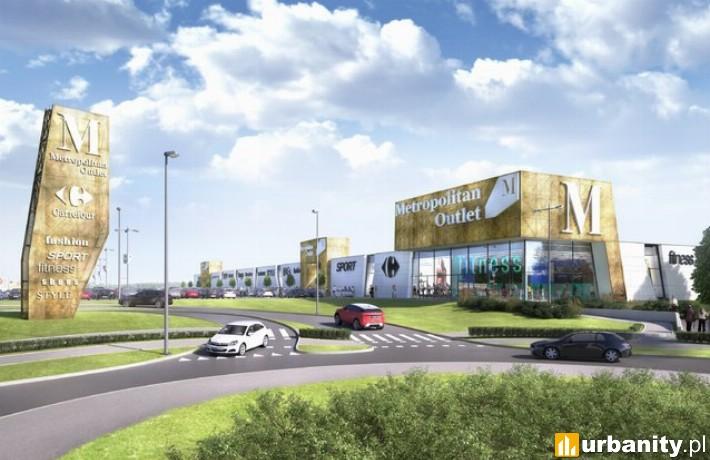 Metropolitan Outlet Bydgoszcz - projekt rozbudowy
