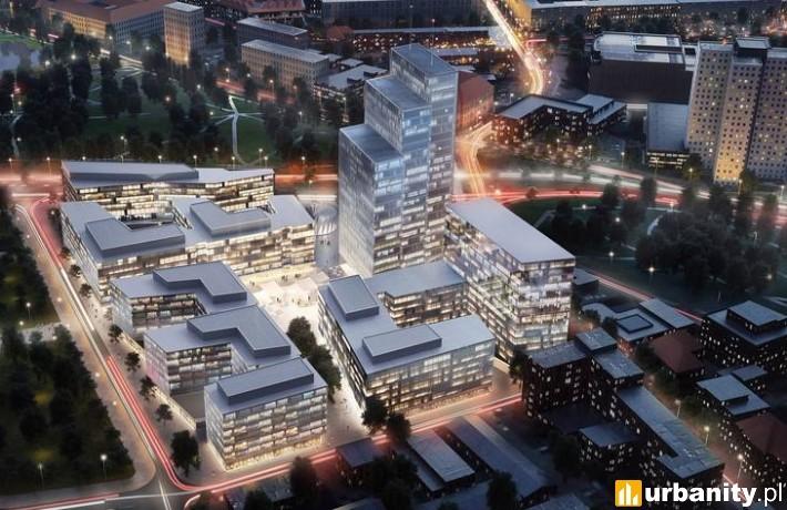 Wstępna wizualizacja projektu Nowy Rynek w Poznaniu