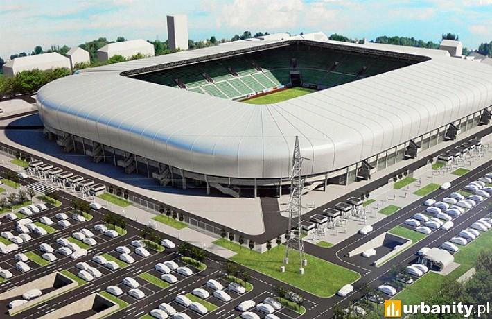 Wizualizacja stadionu GKS Tychy