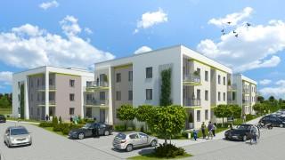Gotowe budynki w inwestycji Zielone Pobiedziska