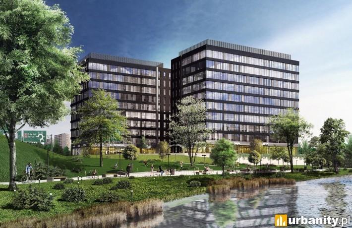 Arkada Business Park w Bydgoszczy - wizualizacja
