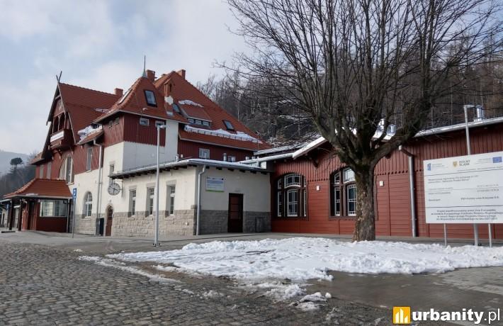 Dworzec Szklarska Poręba Górna - po modernizacji