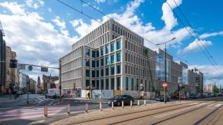 Finiszuje budowa biurowca Nowy Targ we Wrocławiu