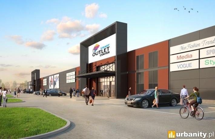Projekt obiektu Smart Outlet Center Bydgoszcz