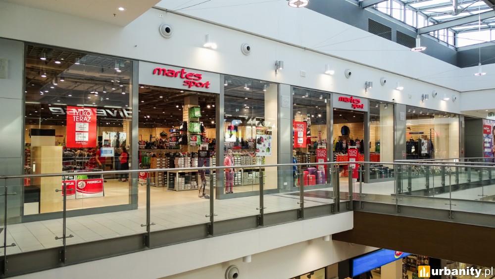 Powiększony i odświeżony Martes Sport w Focus Mall