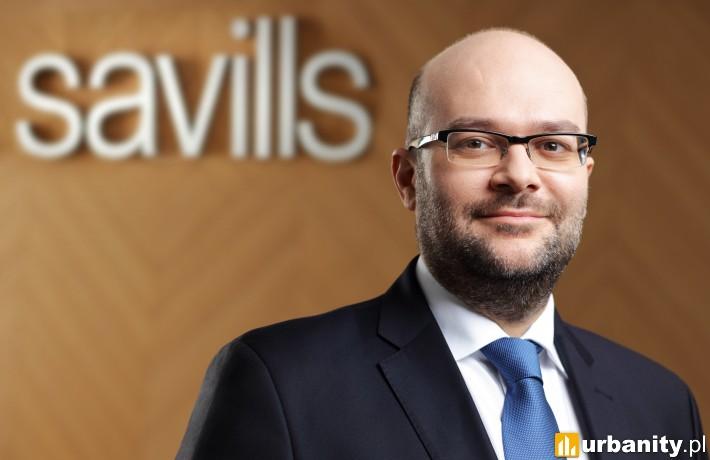 Jarosław Pilch, dyrektor działu powierzchni biurowych, reprezentacja najemcy, Savills.