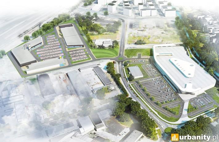 Karuzela Września - projekt rozbudowy