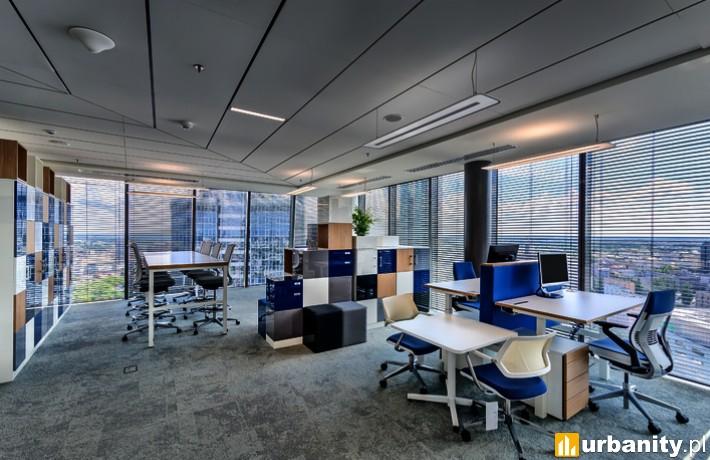 Biuro pracowników firmy Deloitte w biurowcu Q22