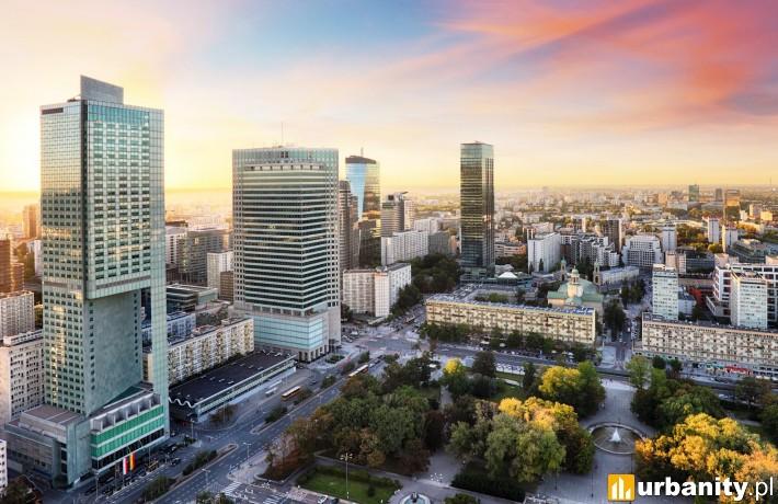 Panorama Warszawy (fot. Walter Herz)