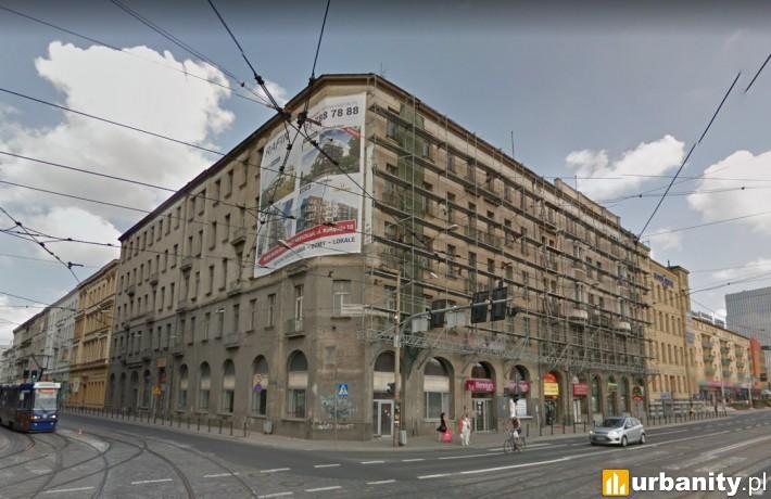 Tak obecnie wygląda kamienica w centrum Wrocławia (fot. google street)
