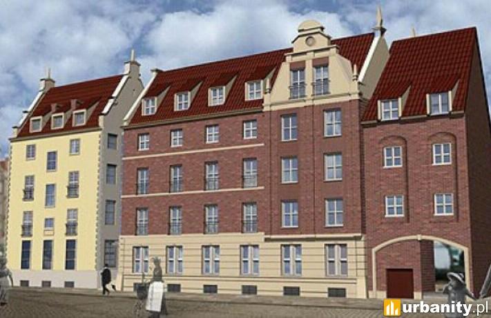 Projekt IBB Hotel Długi Targ w Gdańsku