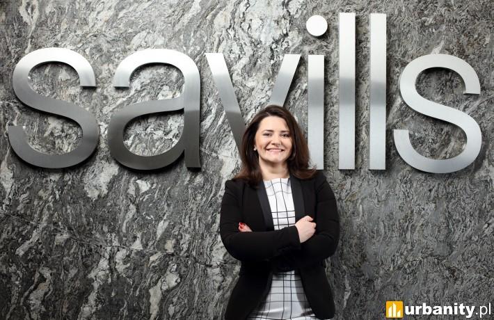Wioleta Wojtczak, dyrektorka działu badań i analiz w Savills w Polsce