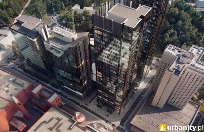 Koncepcja architektoniczna wieżowca Andersia Silver