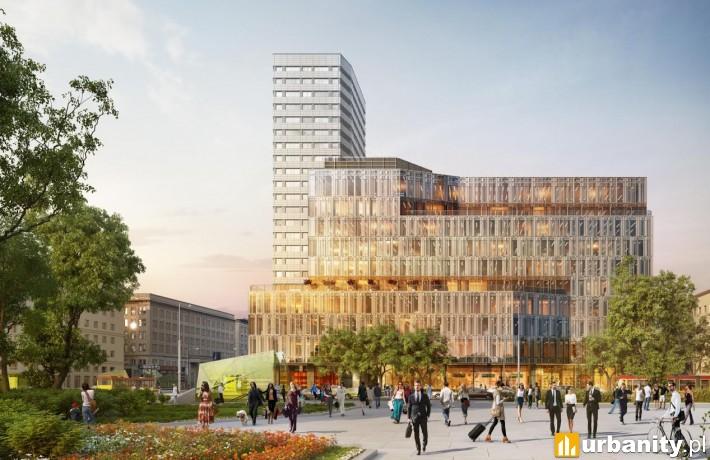 Projekt warszawskiej inwestycji Centrum Marszałkowska