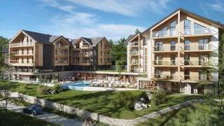 Wizualizacja zewnętrzna hotelu Holiday Inn Resort Szklarska Poręba
