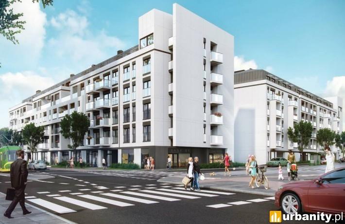 Projekt kompleksu wielofunkcyjnego przy Gajowej w Poznaniu