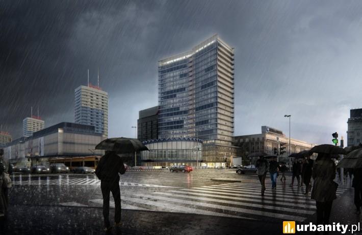 Projekt nowego biurowca przy Rotundzie