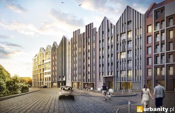 Projekt inwestycji Grano Residence w Gdańsku
