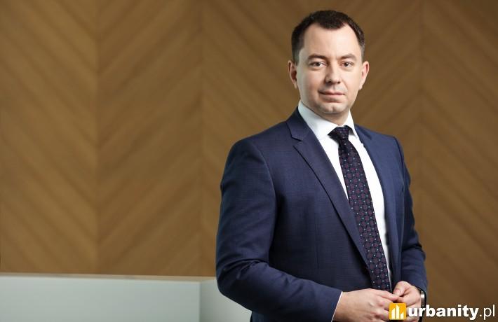 Michał Stępień Associate w dziale doradztwa inwestycyjnego Savills w Polsce