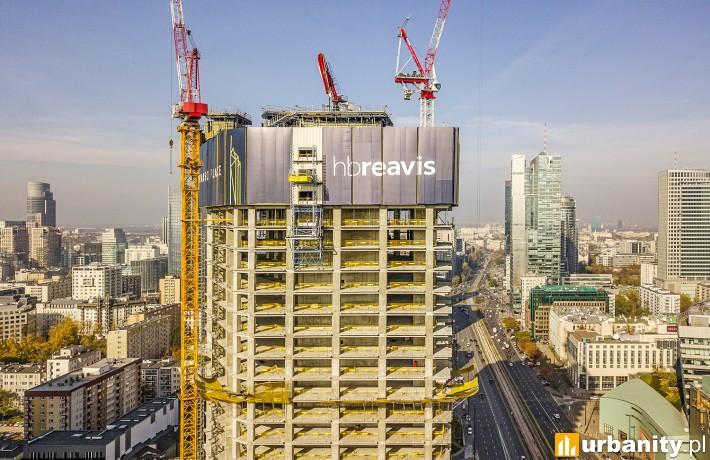 Budowa obiektu Varso Tower