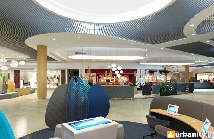 Nowe wnętrza galerii Auchan Hetmańska