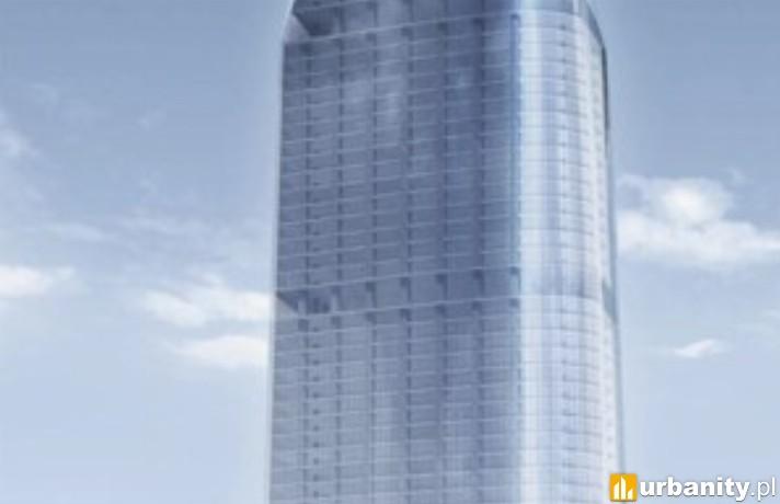 Wizualizacja wieżowca od Chmielna Development