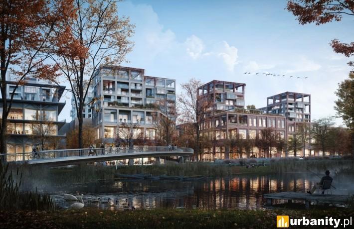 Nowy Wełnowiec w Katowicach - wizualizacja