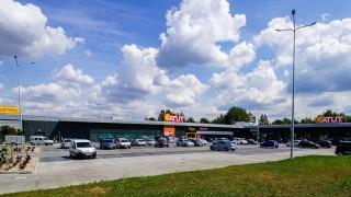 Otwarte centrum handlowe Atut w Bełchatowie
