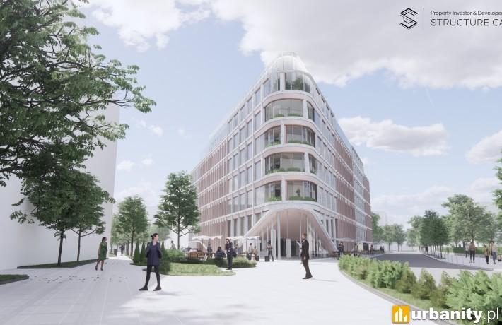 Najnowsza koncepcja hotelu przy ulicy Zielonej 4