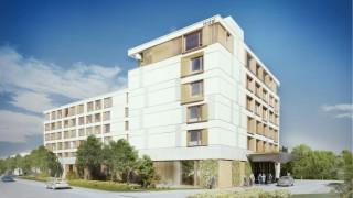 Hotel z dwiema markami - ibis Styles i greet - wizualizacja