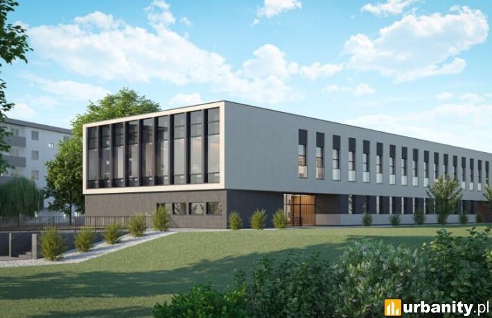 Projekt nowej siedziby straży miejskiej w Krakowie